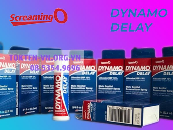 Mỗi lọ Dynamo Delaybao gồm 22,2ml