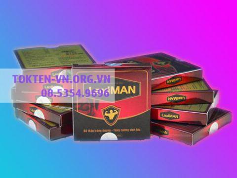 Thuốc bổ thận tráng dương: Laximan