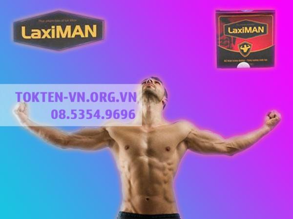 Thuốc Laximan có tác dụng bổ sung thêm các chất bổ dưỡng, nâng cao sức khỏe cho cánh mày râu