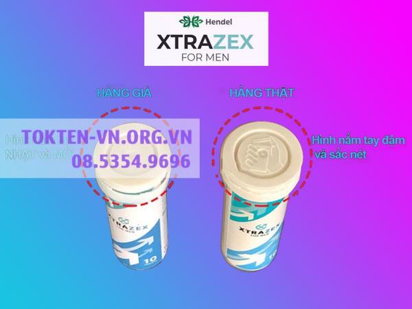Phân biệt Viên Sủi Xtrazex chính hãng và hàng giả