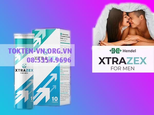 Mỗi hộp Viên Sủi Xtrazex bao gồm 1 lọ 10 viên