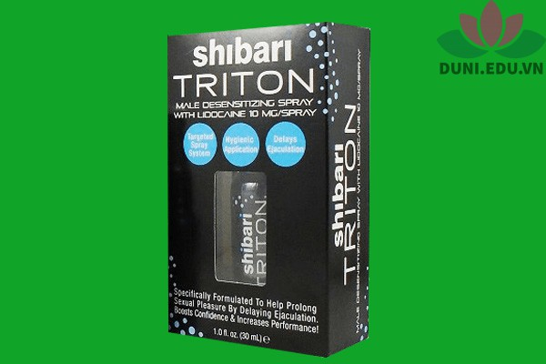 Chai xịt Shibari Triton giá bao nhiêu?