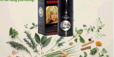 Chai xịt Viga 50000 spray có tác dụng phụ không?