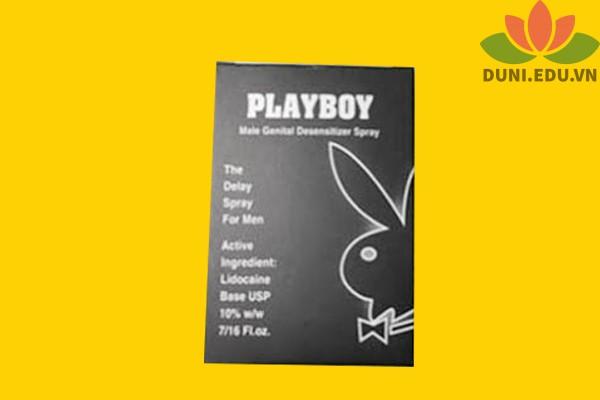 Hộp thuốc xịt Playboy