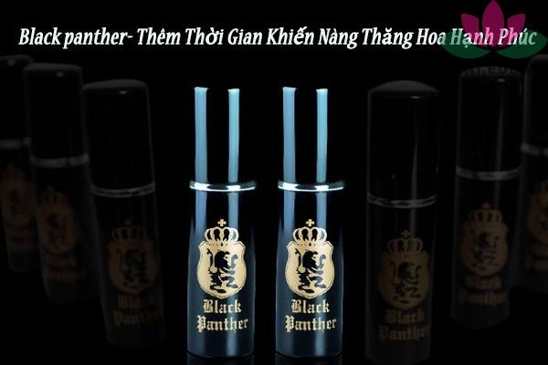 Thuốc xịt Black panther có tác dụng gì?