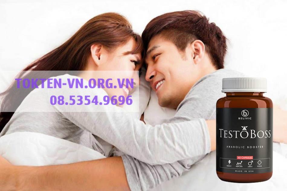 Testoboss - tăng cường sinh lý nam giới