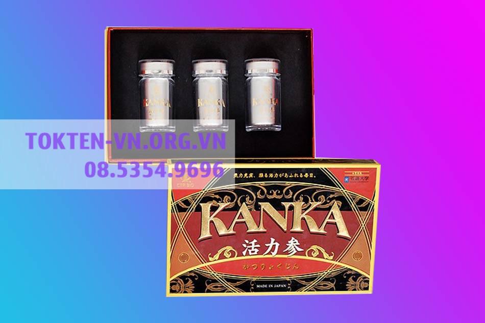 Hình ảnh hộp Bổ Thận Kanka